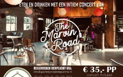 Muziek met Smaak                           met The Marvin Road